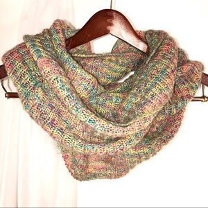 Steve Madden Infinity Knit Multi-Color Scarf